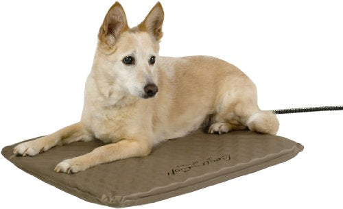 K&H Pet Products Lectro-Soft Outdoor Heated Bed with FREE Cover - MET Safety Listed