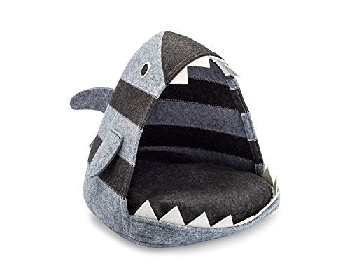 Shark Cat Bed Cozy Comfy cave for your pets