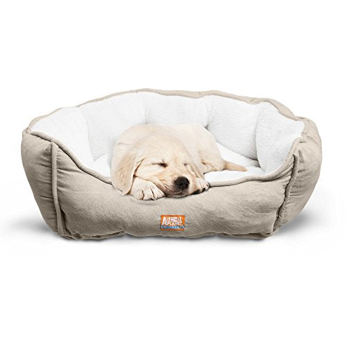 Animal Planet Cuddly Pet Bed with Durable Fabrics - Multiple Colors, Sizes, and Styles Available