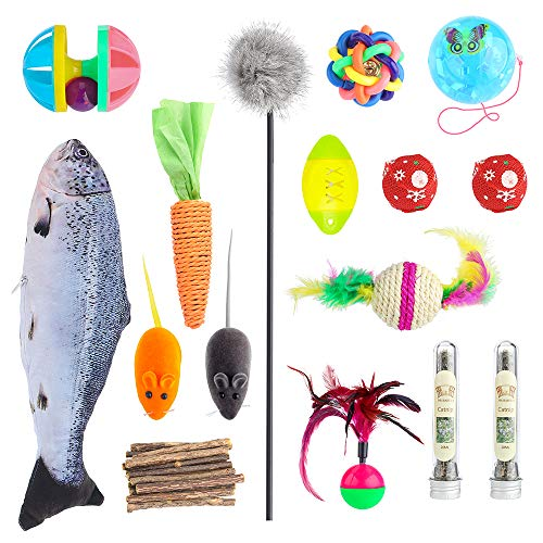 MR-BABULA Cat Toys, 30 Toy Set