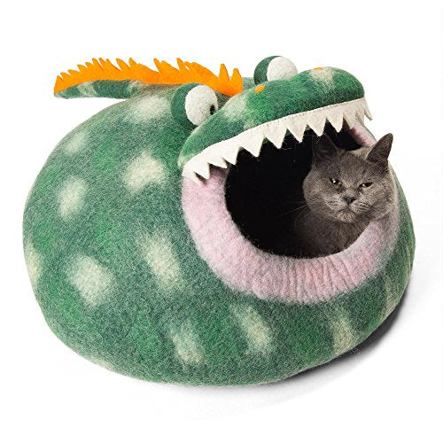 Twin Critters - Handcrafted Cat Cave Bed