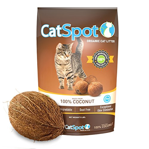 CatSpot Litter, 100% Coconut Cat Litter: All-Natural, Lightweight & Dust-Free