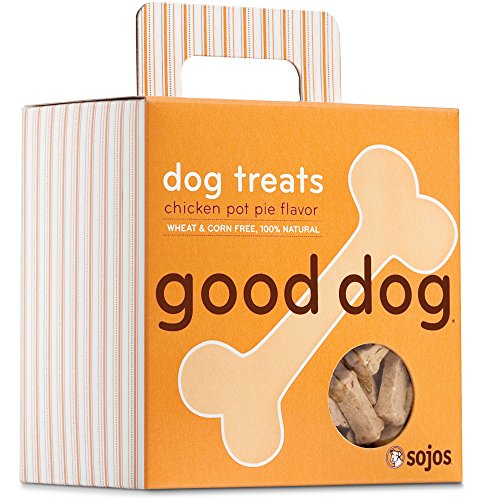 Sojos Good Dog Crunchy Natural Dog Treats, 8-Ounce Box
