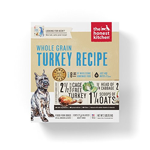 The Honest Kitchen Human Grade Dehydrated Organic Grain Dog Food