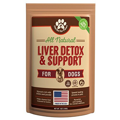 Liver Support for Dogs, Milk Thistle for Dogs and Cats