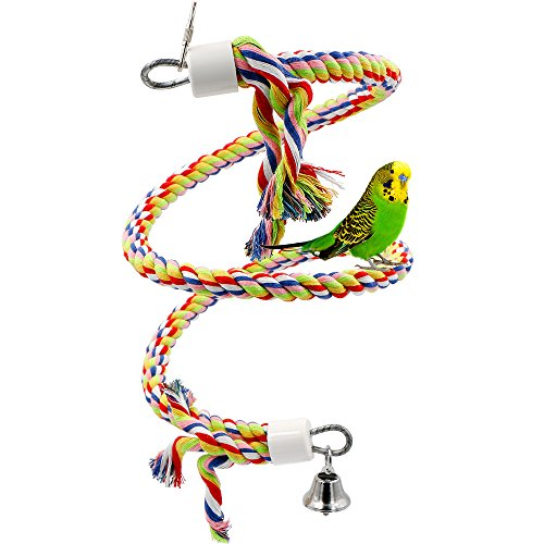 Rope Bungee Bird Toy