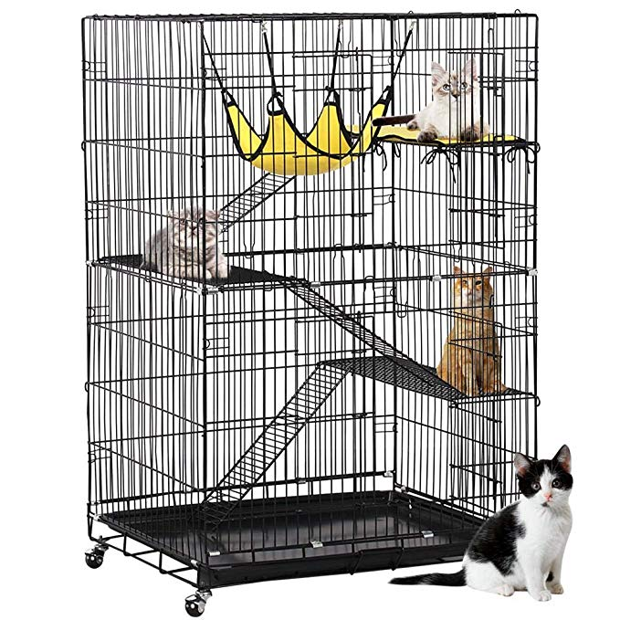 Yaheetech 4-Tier Cat Cage
