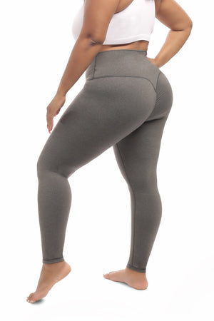 Scrunch Body Shaping Leggings - Gray