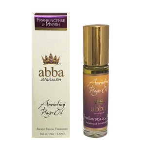 Frankincense & Myrrh 1/3 oz Roll-on (Anointing Oil)