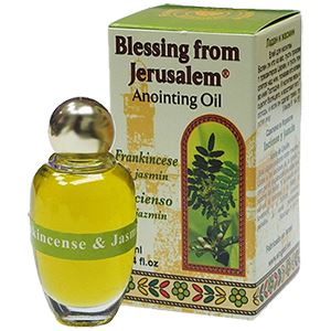 Frankincense & Jasmine Anointing Oil Oil Vision for Israel USA