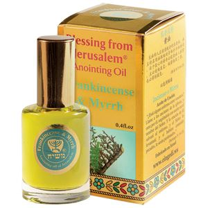 Frankincense & Myrrh Anointing Oil (Limited Edition) Oil Vision for Israel USA