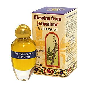 Frankincense & Myrrh Anointing Oil Oil Vision for Israel USA