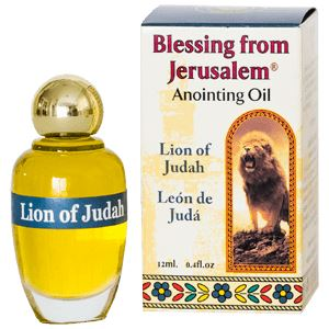 Lion of Judah Anointing Oil Oil Vision for Israel USA