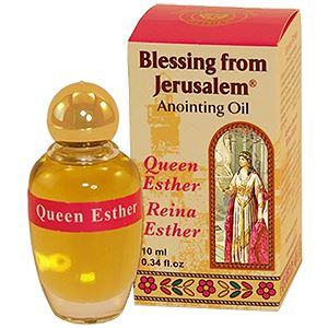 Queen Esther Anointing Oil Oil Vision for Israel USA