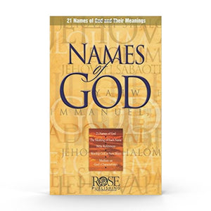 Names of God (Pamphlet)