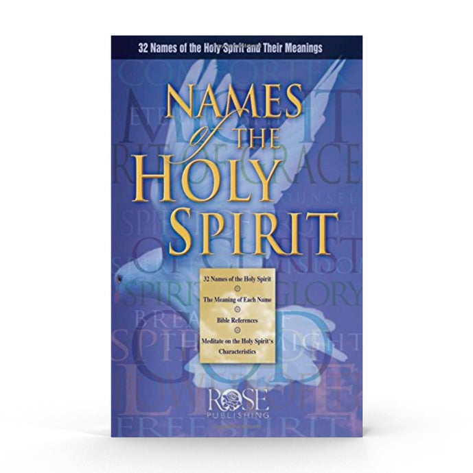 Names of the Holy Spirit (Pamphlet)