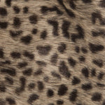 Faux Fur Fluffy Animal Print Legwarmers