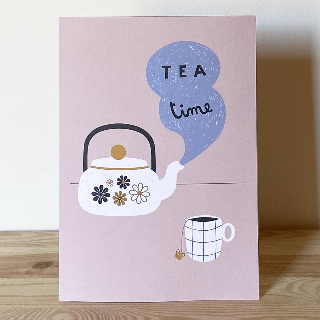 Stampa A4 Tea Time