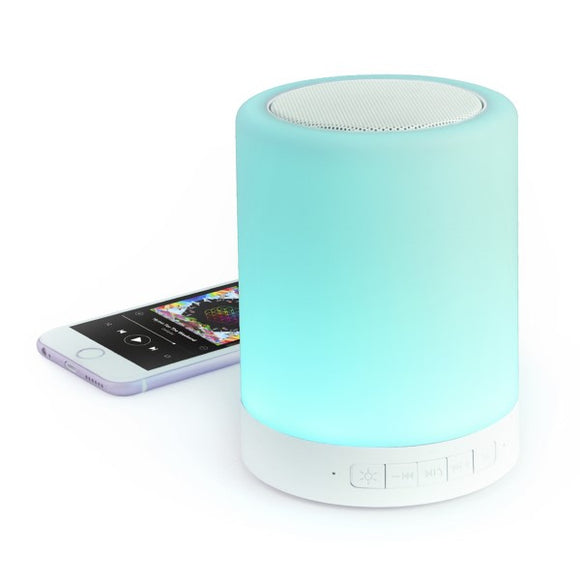LED-lamp Bluetooth speaker