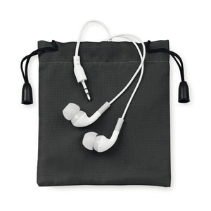 In-ear oortjes goodiebag
