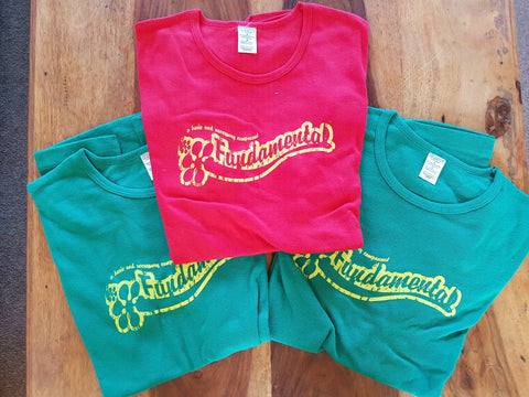 Fundamental Red Limited Edition Girl's T Shirt, A Basic and Necessary Component!