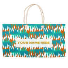 Load image into Gallery viewer, Sunset Angles Weekender Totes