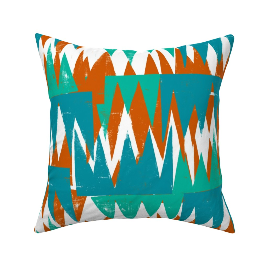 Sunset Angles Pillow Cover