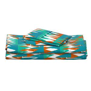 Sunset Angles Fabric