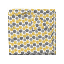 Load image into Gallery viewer, Lemon Drop Gray Fabric