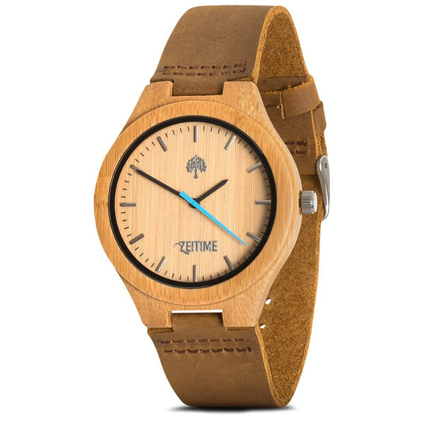 WOODY BAMBOO BLUE | ZeiTime
