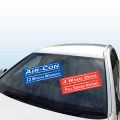Windscreen Stickers