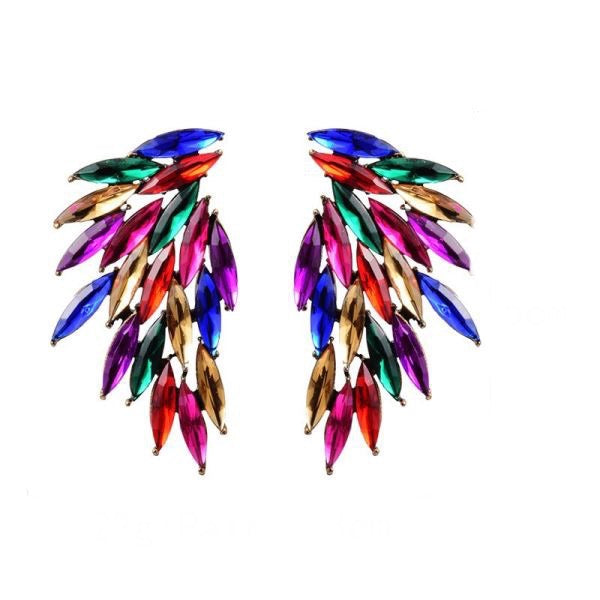 Multi Color post Earring
