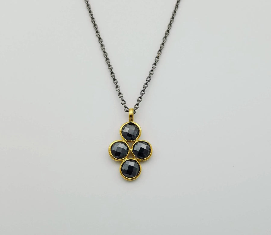 PYRITE MIXED METALS NECKLACE SONIA TONKIN