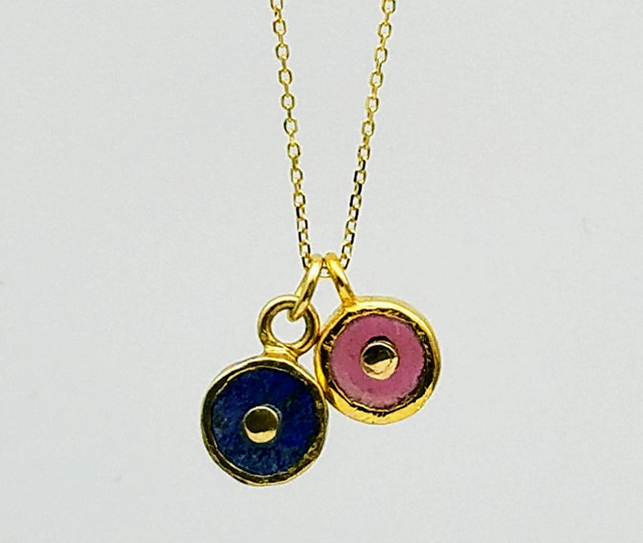 DOS SOL SIGNATURE GOLD NECKLACE SONIA TONKIN