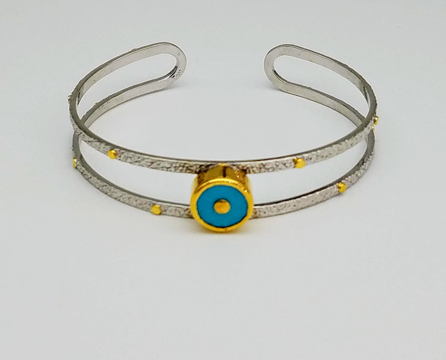 SIGNATURE TURQUOISE BANGLE