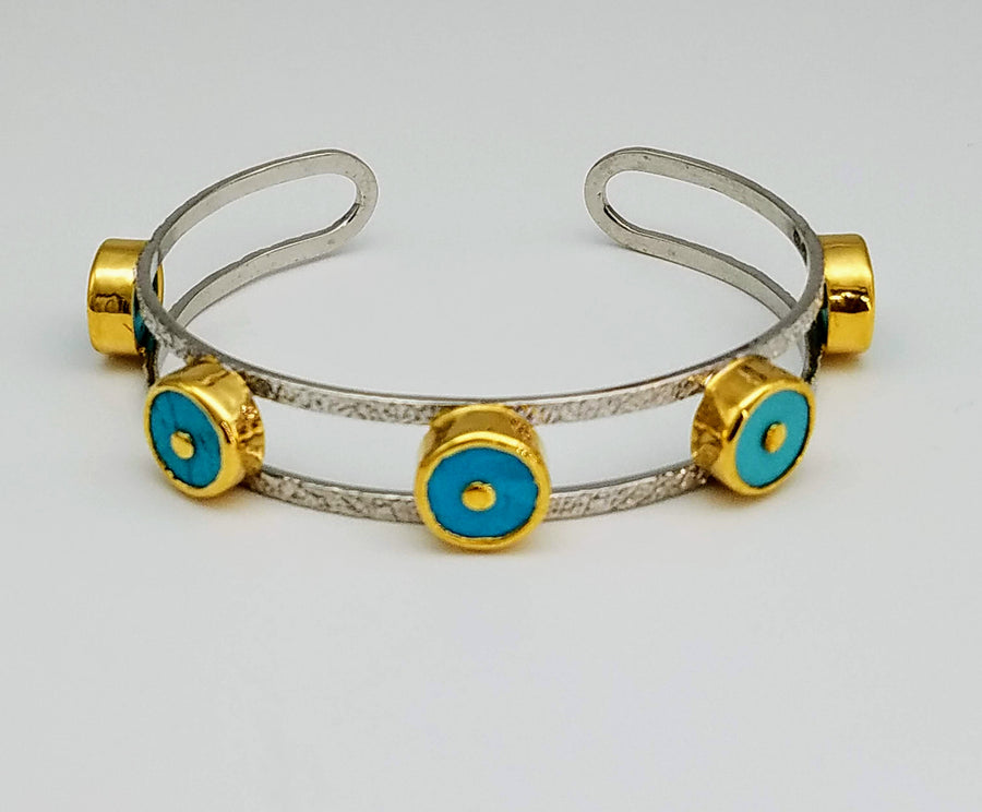 TURQUOISE SIGNATURE BANGLE