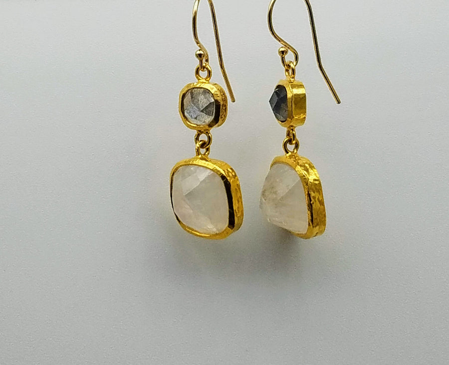 MOONSTONE CLASSIC EARRINGS