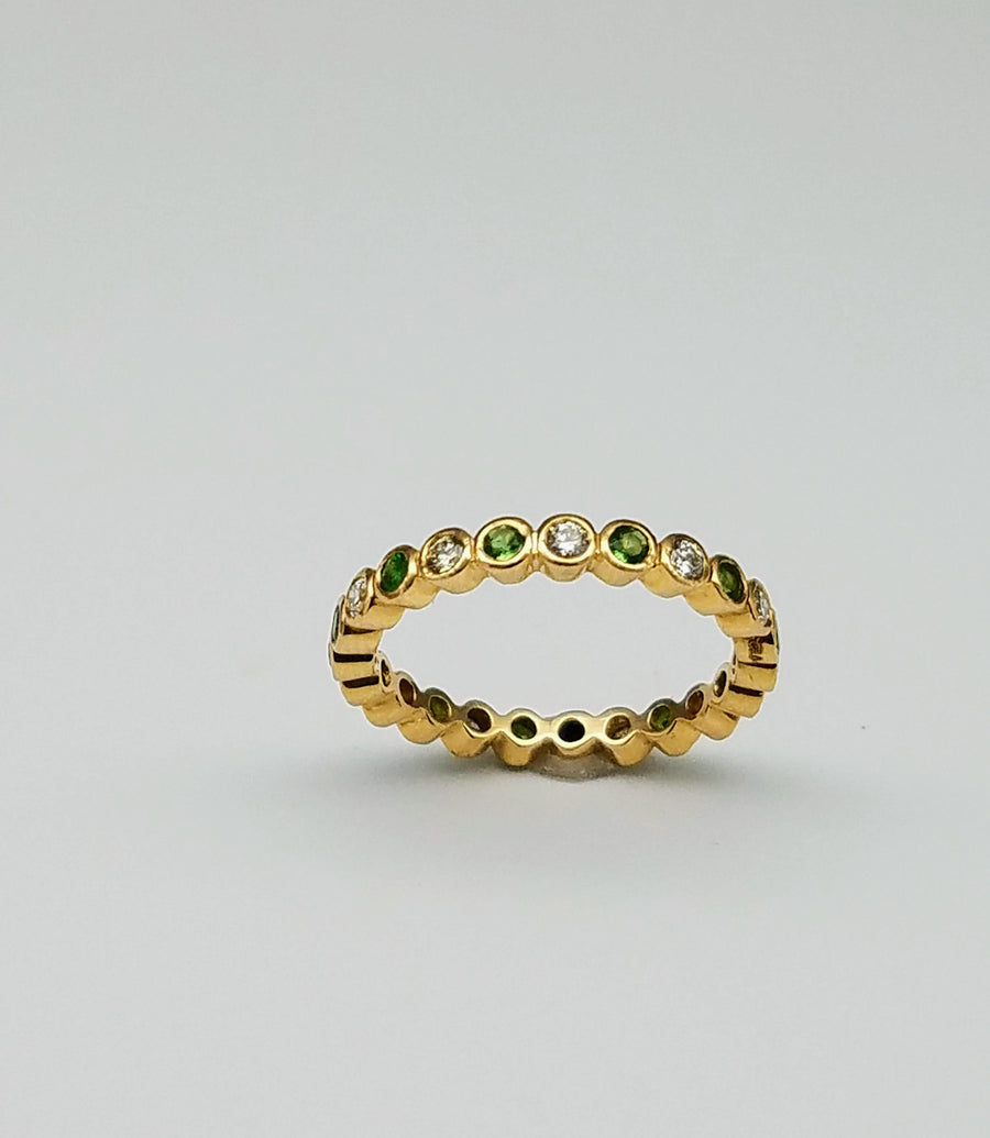 DIAMOND SAVORITE GOLD RING