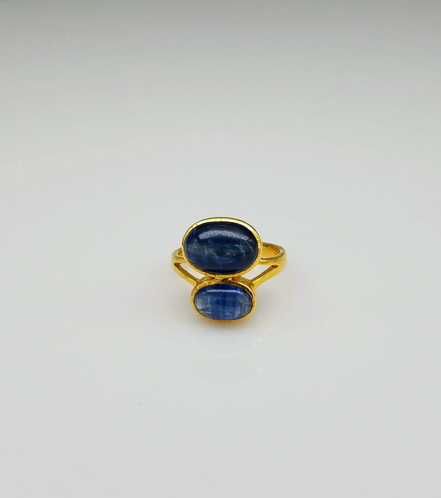 KYANITE DUO RING