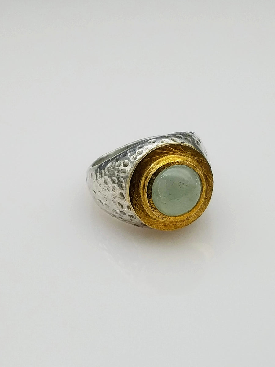 AQUAMARINE ORGANIC RING