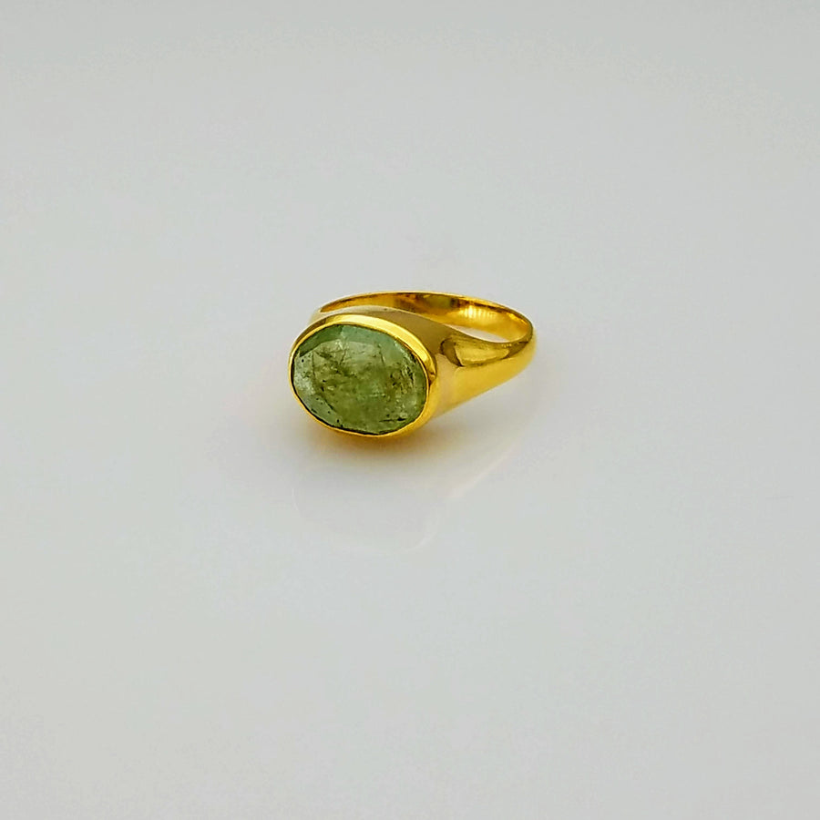 BERYL DOME GOLD RING SONIA TONKIN