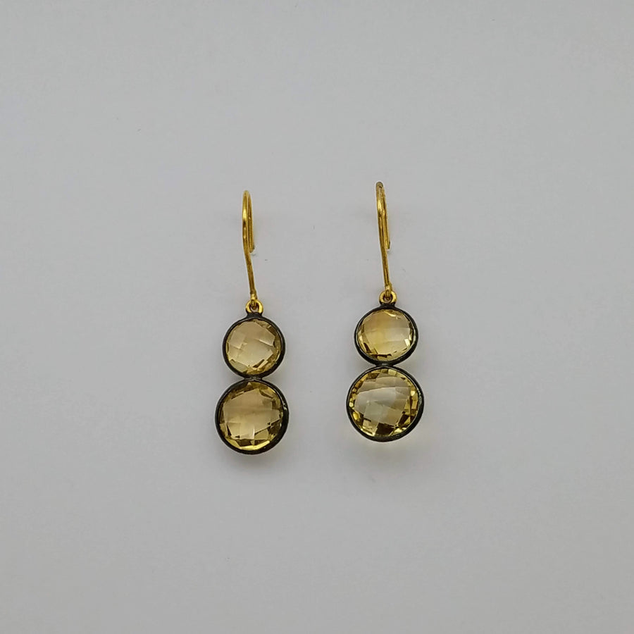 CITRINE EARRINGS SONIA TONKIN