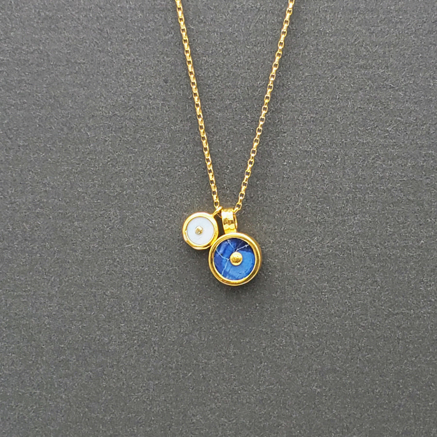 DOS SOL GOLD NECKLACE