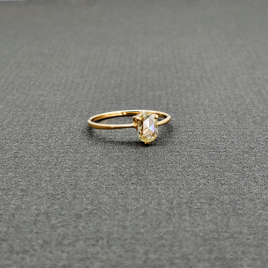 SOLITAIRE ROSE CUT DIAMOND RING