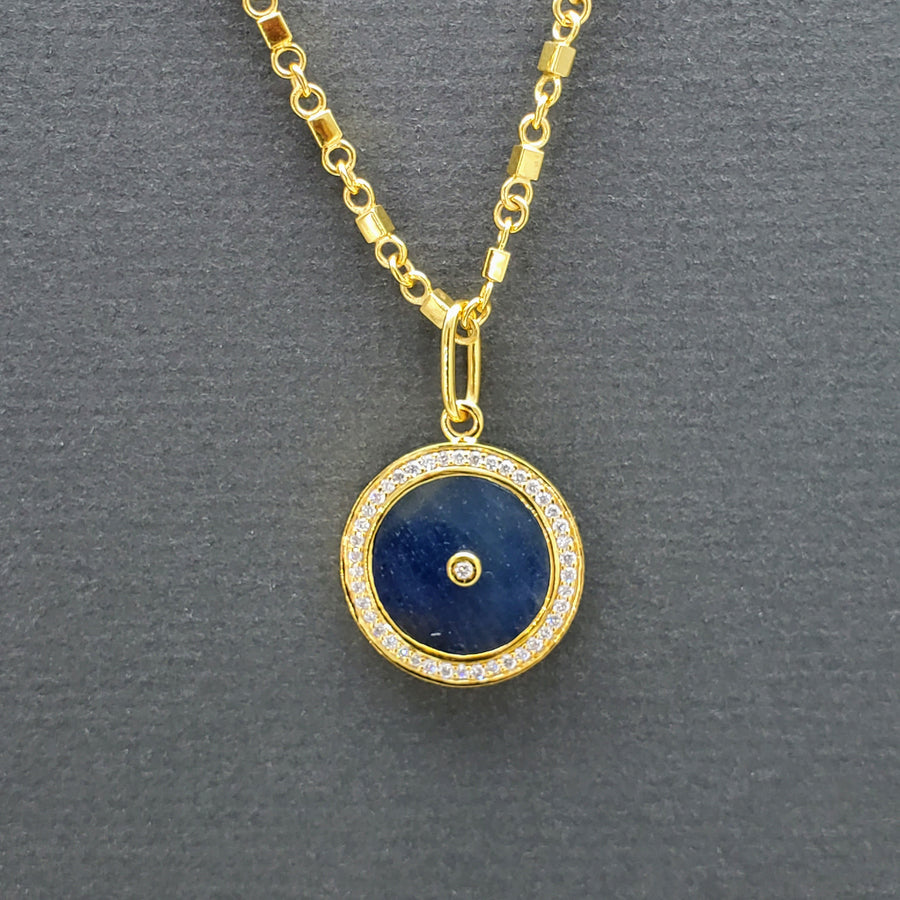 SUN MAGNIFIQUE 16MM GOLD NECKLACE
