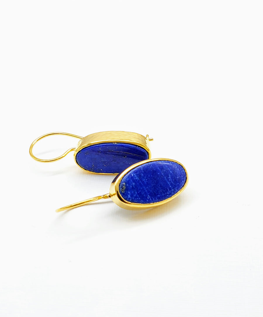LAPIZ GOLD EARRINGS