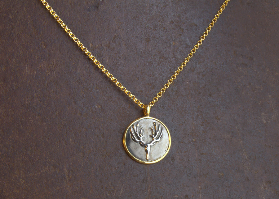 STAG MIX NECKLACE