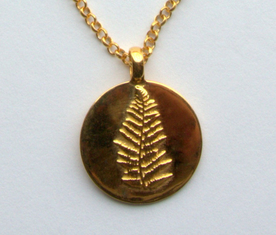 FERN GOLD NECKLACE