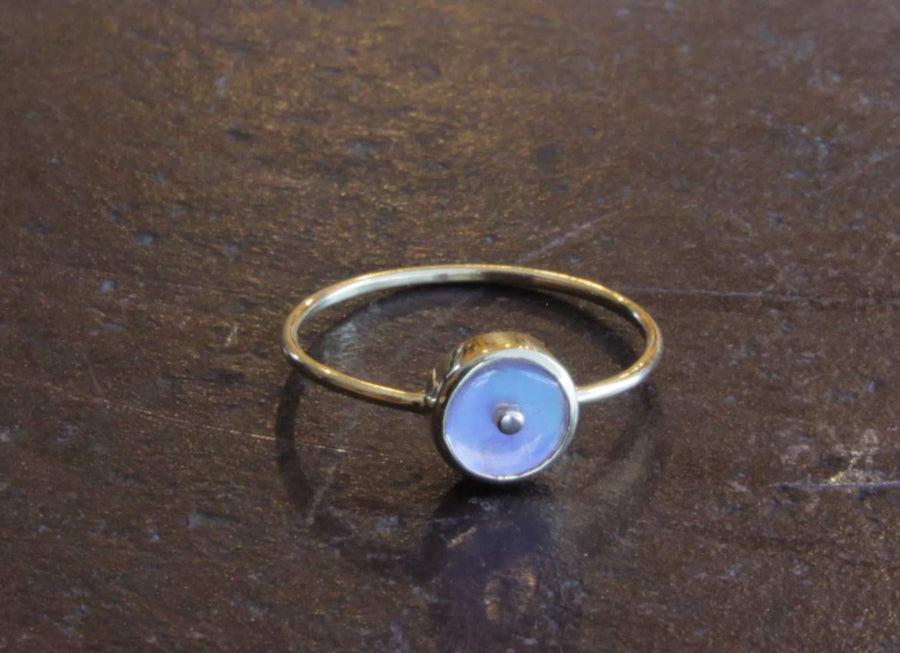 MOONSTONE SIGNATURE RING