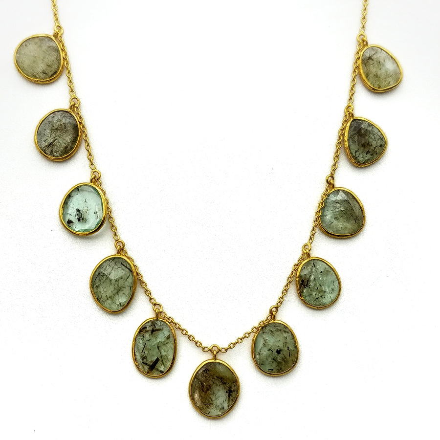 BERYL CASCADING NECKLACE
